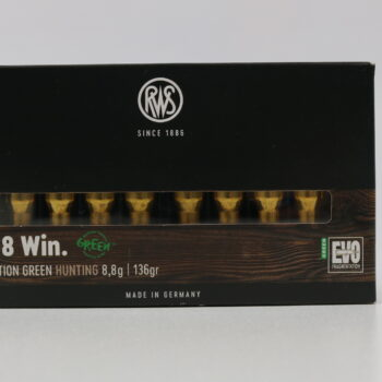 Amunicja kulowa RWS 308Win EVO Green 8,8g/136gr