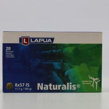 Amunicja kulowa LAPUA 8x57IS Naturalis 11,7g 180 gr