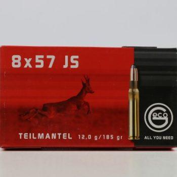 Amunicja kulowa GECO 8x57 JS TM 12g/185gr