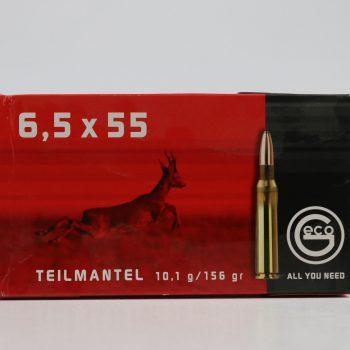 Amunicja kulowa GECO 6,5x55 TM 10,1g/156gr
