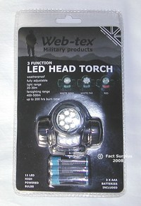 wt led head torch
